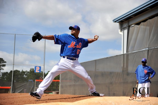 MLB: New York Mets-Pitchers and Catcher Workout