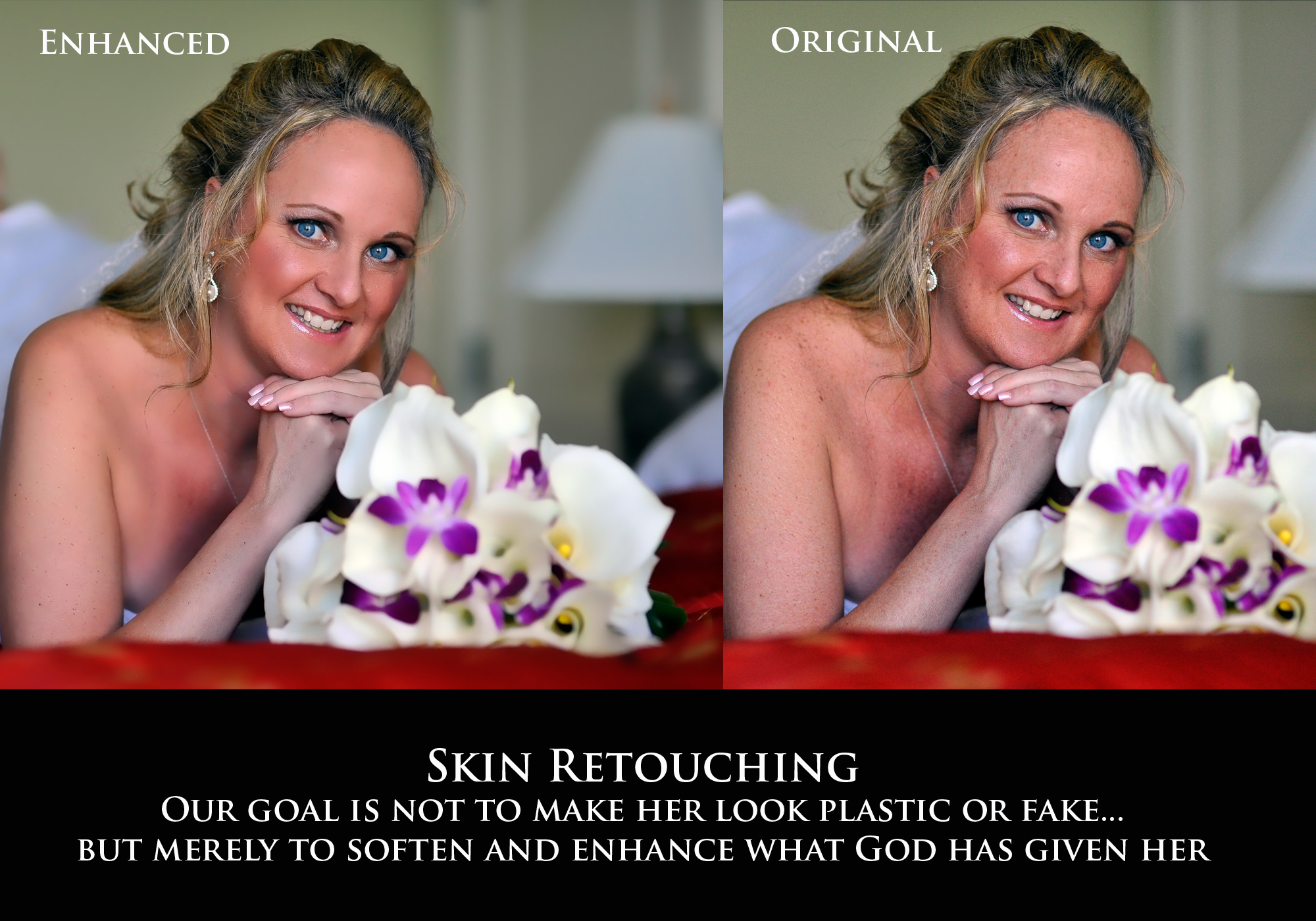 Skin Retouching: BCI's Philosopy