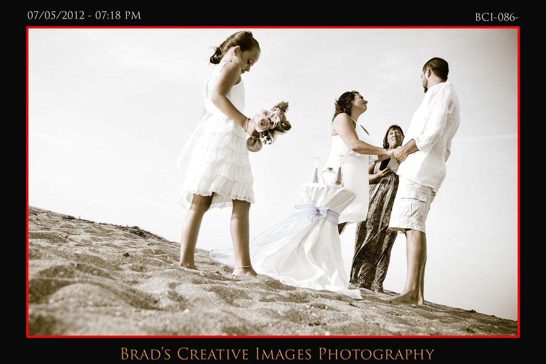 secluded beach wedding on hutchinson island