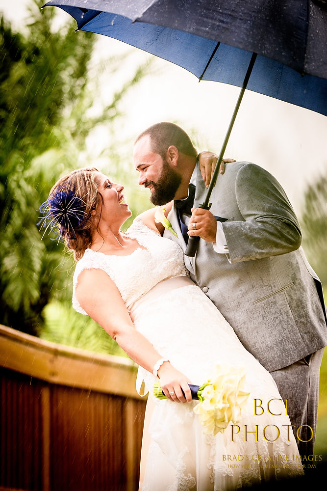 Eastpoint CC Hosts Rainy Wedding and the Party Totally Rocks!
