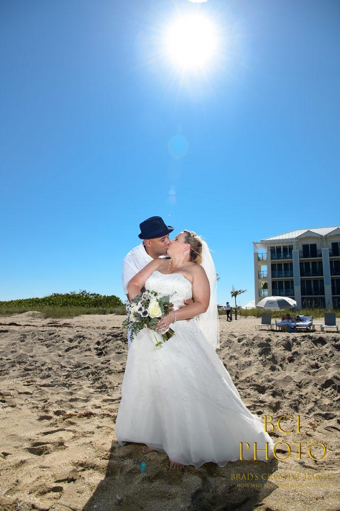 Sunday Wedding at the new Hutchinson Shores Resort