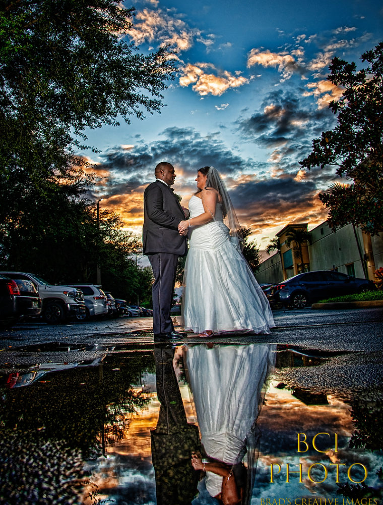 Rainy Day Wedding at the Regal Event Hall