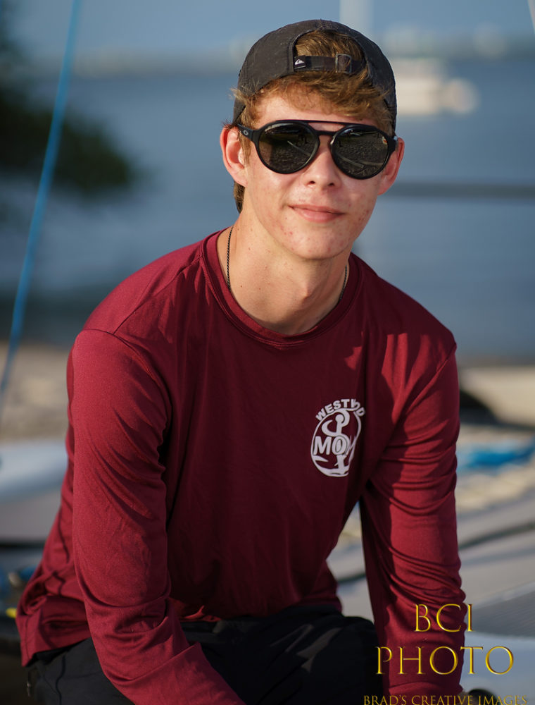 Senior Pictures at Indian Riverside Park and Sailing Center