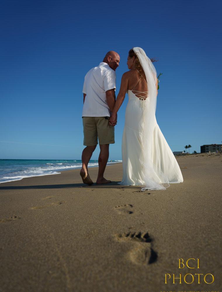 Weekday Beach Wedding at Marriott Hutchinson Island Beach