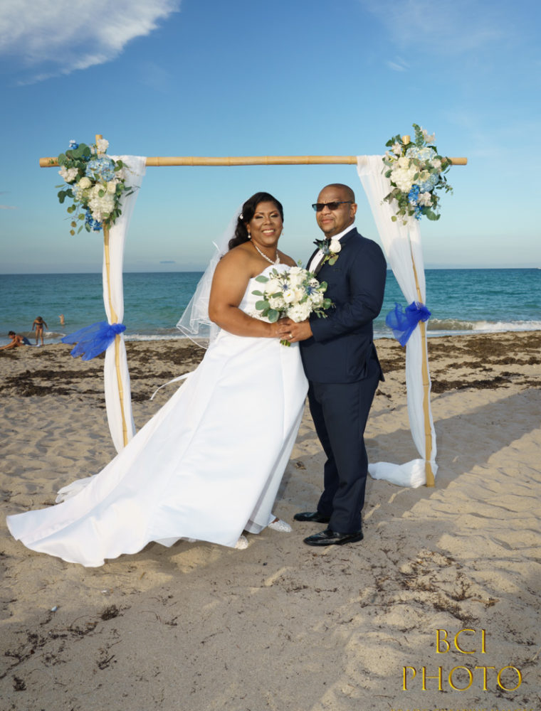 Intimate Wedding at the Courtyard by Marriott