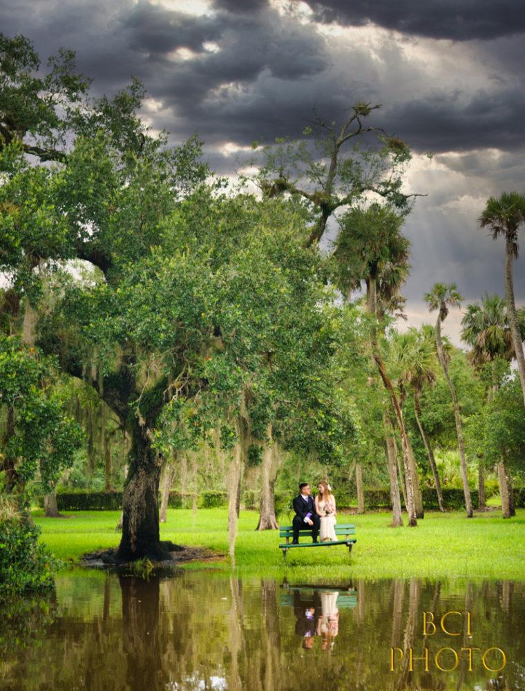White City Park Wedding Beats the Rain and Covid 19