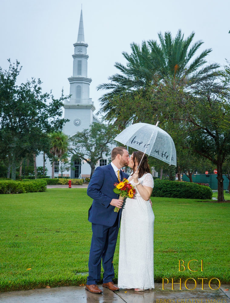 3rd Wedding of Rainy Weekend Shines at Tradition Town Hall Gazebo