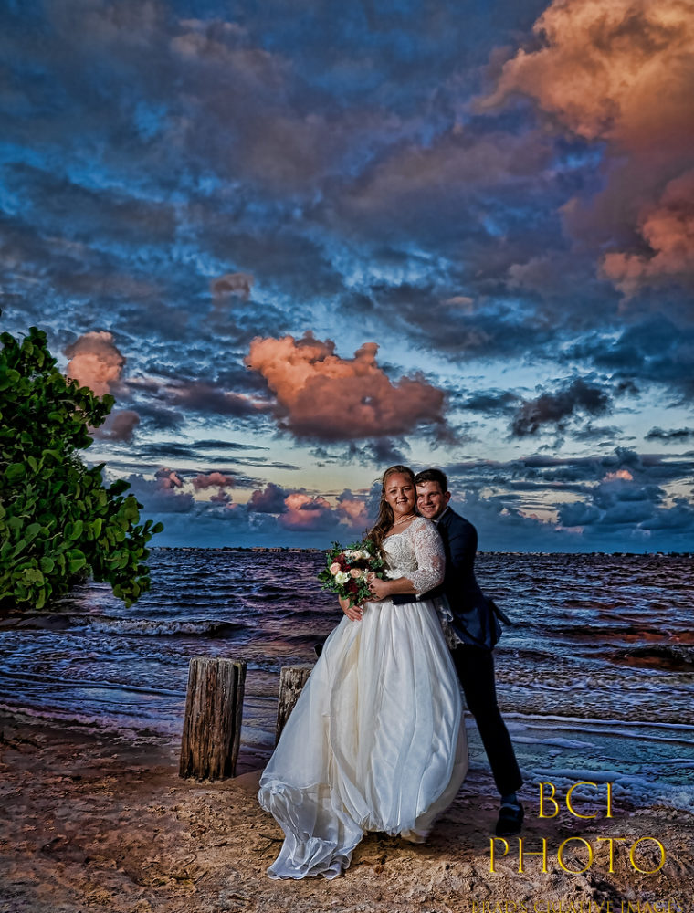 Windy Wedding at Indian Riverside Park